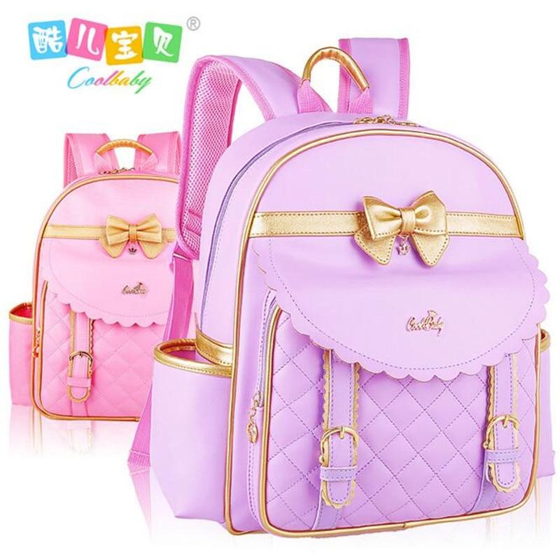 Karšta pirkti studentams nailono + pu odinės mokyklinės rankinės mergaičių kuprinė vaikams yra studentų kuprinės krepšys Aukštos kokybės mergaičių kelioninis krepšys