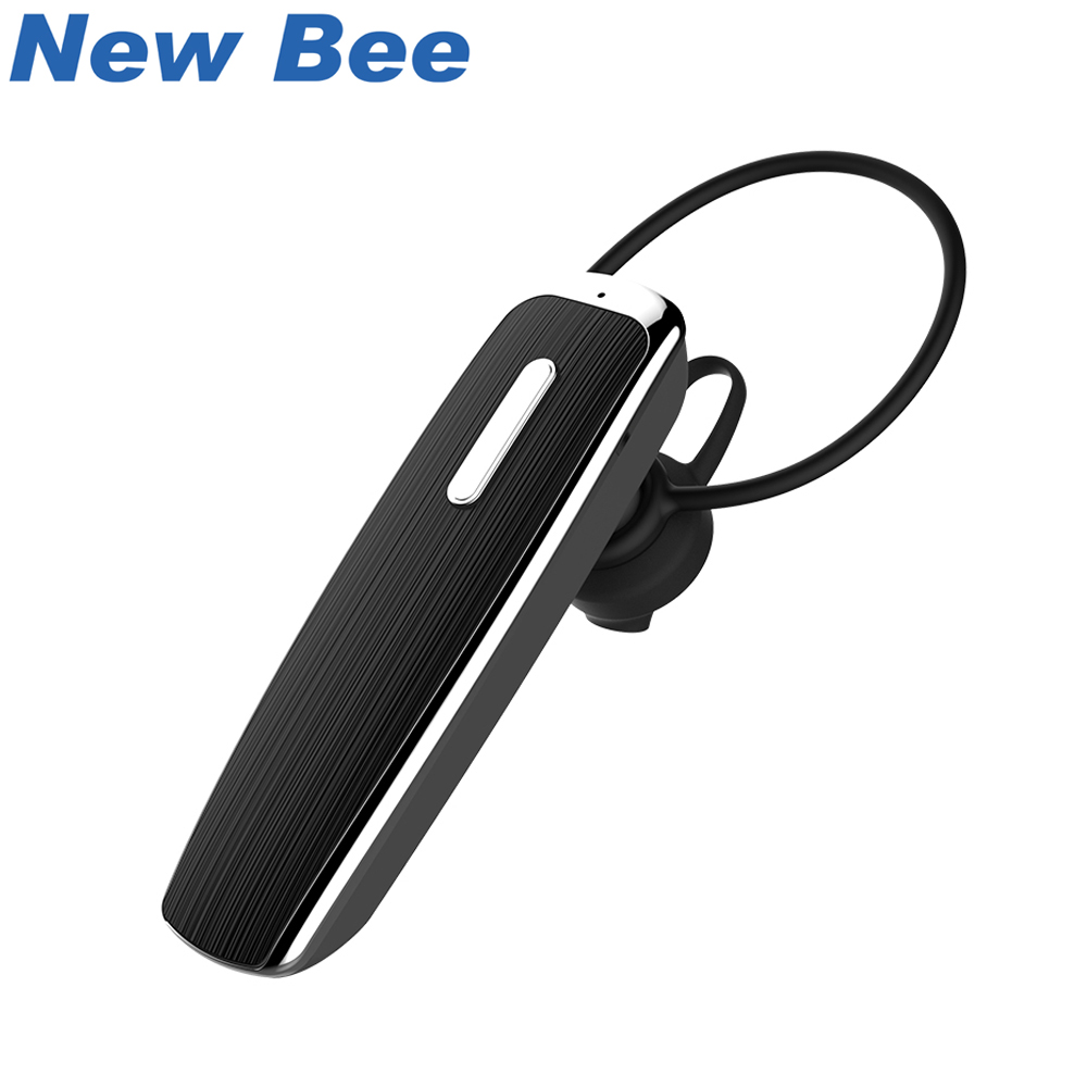 New Bee Hands Free Bluetooth Earphones Wireless Headphone Portable Stereo Sport Headset For iPhone Xiaomi Earpiece Microphone ttlife stereo sports earpiece hands free earbuds wireless earphones bluetooth with microphone for xiaomi android phone