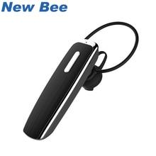 Новый Би Hands Free Bluetooth наушники Беспроводной наушников Портативный стерео гарнитура Спорт для iPhone Xiaomi микрофон, динамик