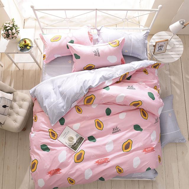 Summer Fruit Bedding Set