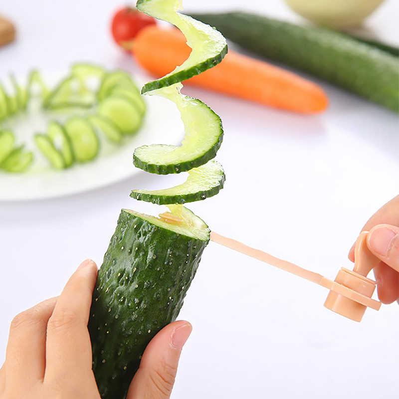 الجزرة دوامة قطاعة الخضروات مقشرة الادوات القطاعة Spiralizer قطع نماذج قاطعة شرائح البطاطس الطبخ اكسسوارات المطبخ