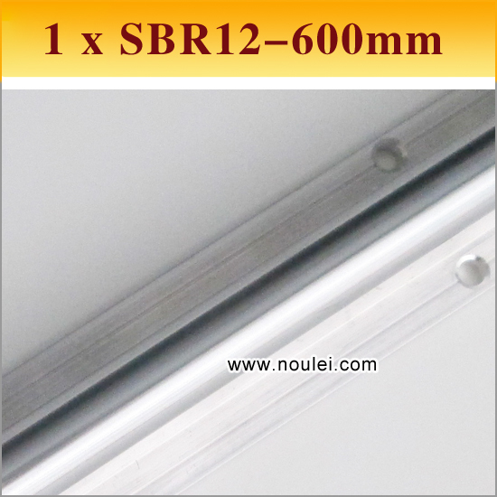 1pcs SBR12 600mm Linear Motion guide supported rail SBR linear shaft 12mm for CNC can be cut any length 15mm 1pc trh15 length 1400mm linear guide rail linear guideway can be cut any length