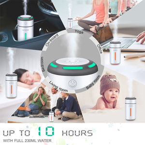 Image 5 - Mini Car Air Purifier Humidifier for Car Home Desktop Pm2.5 7Colors Lamp Aromatherapy USB Charging Auto Mist Air Freshener