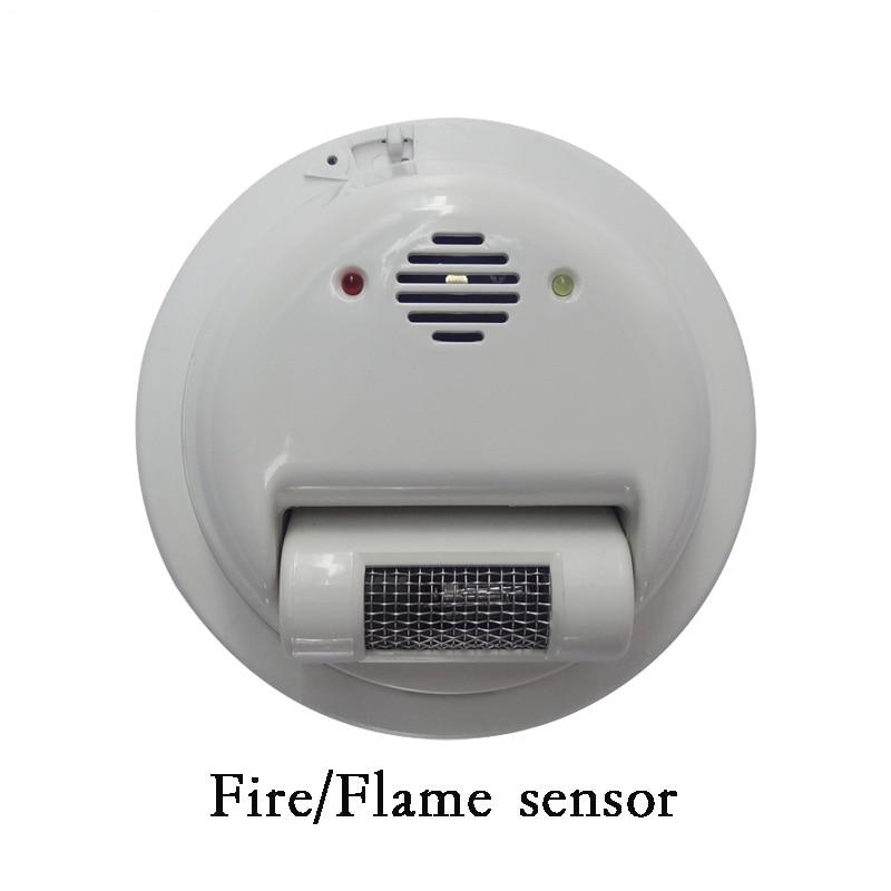 2000E Filo sensore di Allarme Antincendio rilevatore di Fiamma Rivelatore di raggi Ultravioletti protezione di sicurezza Domestica NC/NO uscita relè di segnale - 3