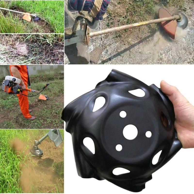 Carbon Steel Grass Trimmer Head Mowing Lawnmower Grass Cutter Weed Trimmer Head For Lawn Mower Accessories Garden Tools 9 Inch