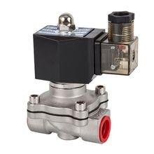 Нормально замкнутый электромагнитный клапан dn15 до 50 водяные