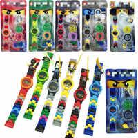 18 arten LegoINGlys Ninjagoed Uhr Motorrad Tornado Modelle Gebäude Spielzeug Für Kinder Weihnachten