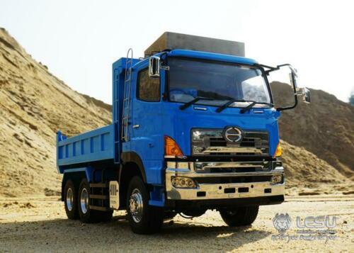 LESU RC Hn 6*6 hydraulique camion à benne basculante moteur ESC FS-I6S 1/14 Tmy modèle de voiture THZH0186