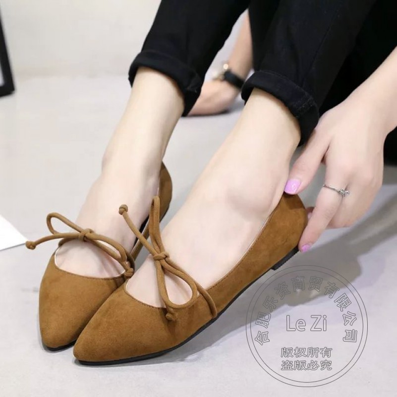 Sweet Runway Shoes Play Solid Color Instep Brand Designer font b Women b font Flats Shoes