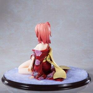 Image 4 - マイティーンロマンティックコメディ Snafu ゆい Yuigahama 着物版。 PVC アクションフィギュアアニメセクシーガール図モデルのおもちゃコレクション人形ギフト