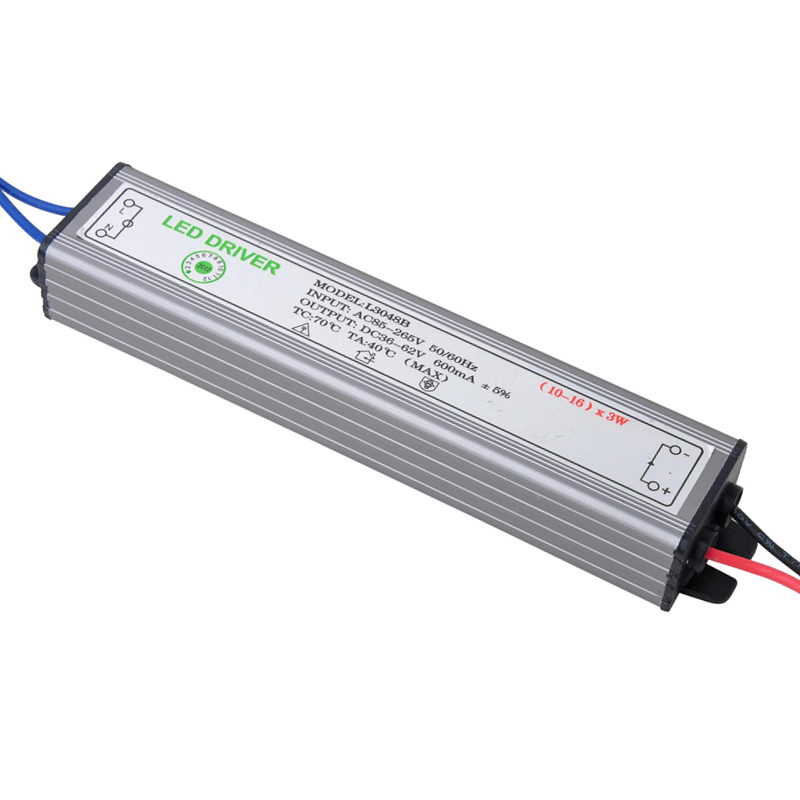 PHISCALE 30-48W LED Driver Power Supply Waterproof IP67 Constant Current AC100-260V 600mA For 30-48W LED Bulb 70w led driver dc54v 1 5a high power led driver for flood light street light constant current drive power supply ip65