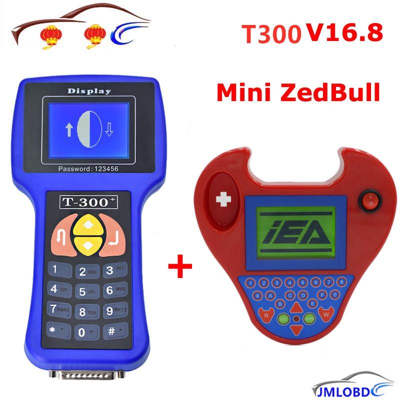 T300 Auto Key Programmer V16.8 English/Spansih T-300 + MINI Zed Bull Zedbull Car Key Maker Works Multi-Brand