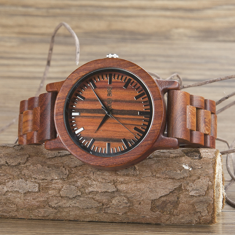Wooden Analog Watch
