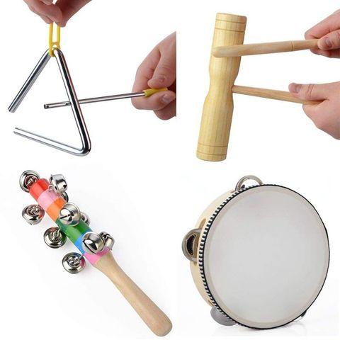 conjunto brinquedo de percussao diversao criancas brinquedos