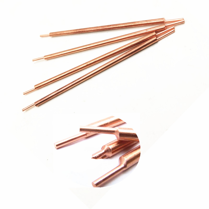 3*100mm Welding Pin Soldering Needle Spot Welder Machine Weld Accessories Alumina Copper Battery Spot Welding Machine Pins