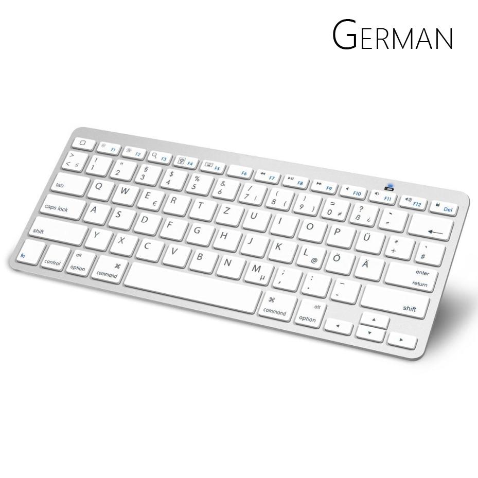 german arabic bluetooth keyboard with qwertz layout