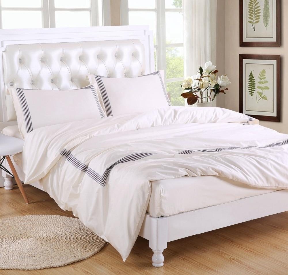 400thread Count Bedding Set Duvet Cover Set Cream With