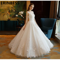 Vestidos De Novia New Romantic Sexy Mermaid Embroidery Wedding Dress Sweetheart Neck Court Train Bridal Gown