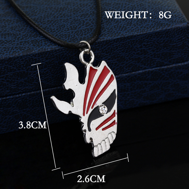 Bleach Mask Necklace New Design Punk Cosplay