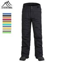 Hot Sale Winter Snowboard Pants For Men Women Snow Thicken Warmth Trousers Thermal Waterproof Skiing Pants Pantalones De Nieve