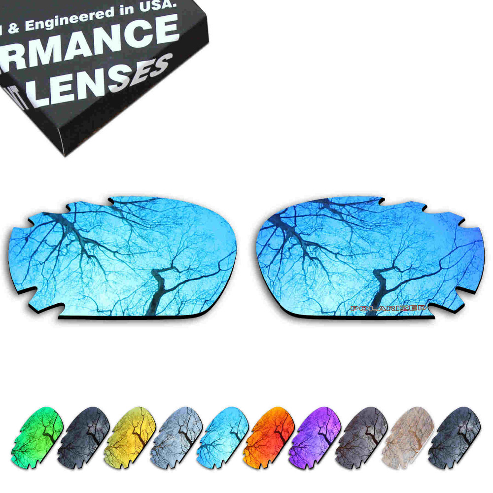 ToughAsNails Resist Seawater Corrosion Polarized Replacement Lenses for Oakley Jawbone Vented Sunglasses - Multiple Options