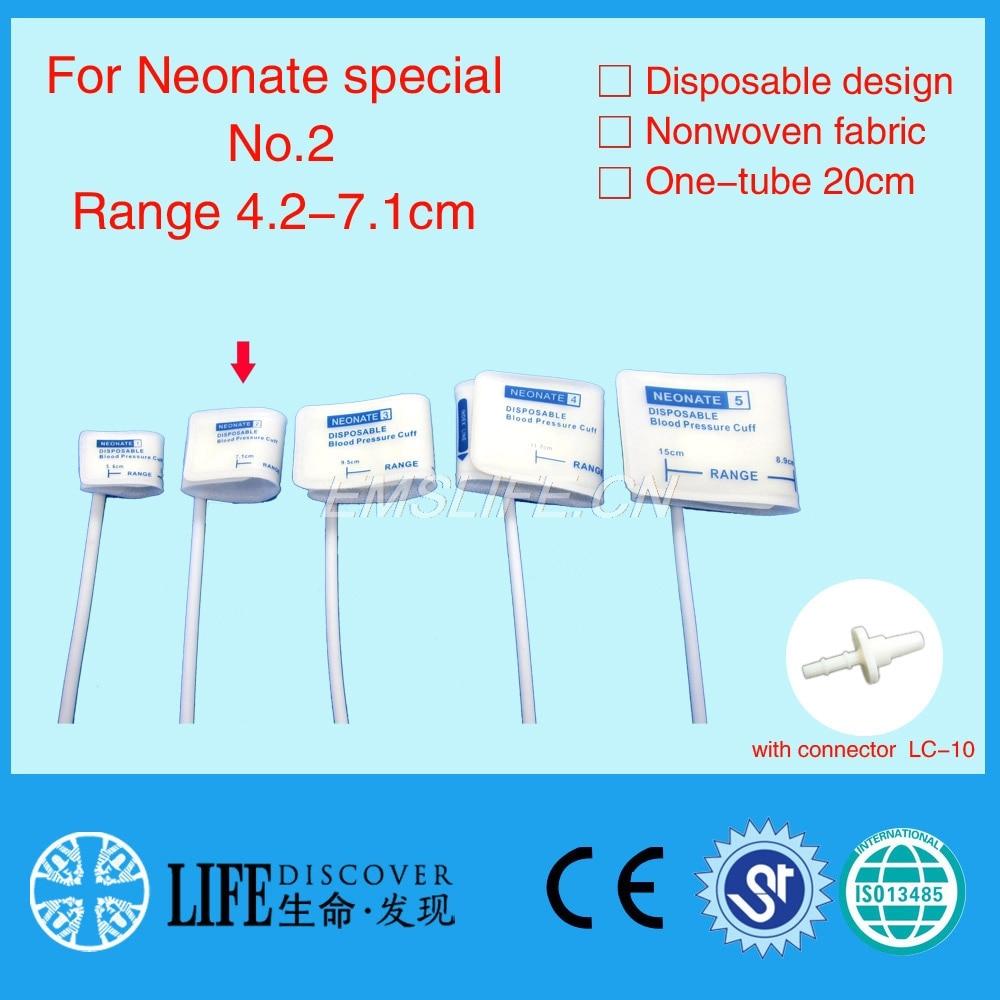 Bracciale per la pressione sanguigna speciale neonatale per monitor - Strumenti per la cura della pelle - Fotografia 1