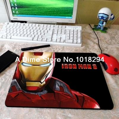 Iron Man mouse pad American iron man mousepad laptop mouse pad best seller notbook computer gaming mouse pad gamer play mats