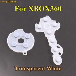 Image 4 - Chenghaoran 10 세트 xbox 360 용 xbox360 무선 컨트롤러 용 전도성 고무 실리콘 패드 연락처 버튼 d 패드 수리
