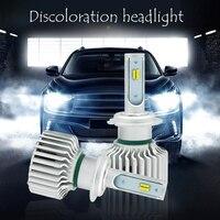 EURS TM 2PCS Factory New Headlight 90w Led 3000k 4300k 6000k 6500lm 12v Waterproof Headlights H1