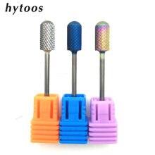 Hytoos redondo tambor superior broca do prego bits 3/32