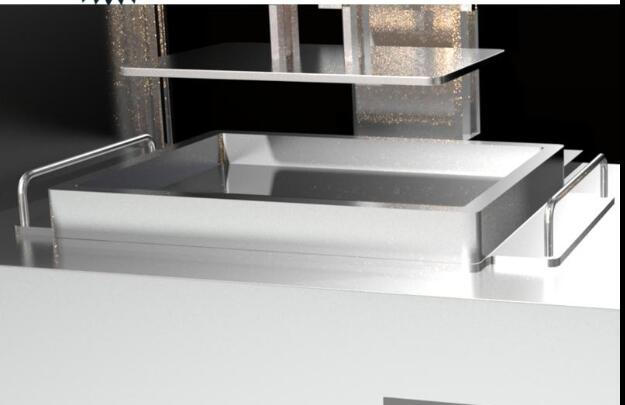 3D printer SLA SHINE original resin tray 8.9 inch 3D Printer Parts & Accessories     - title=