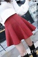Wysokiej zwężone kobieta spódnica dorywczo krótki mini spódniczki kobiet piłka suknia tutu spódnice czarny czerwony szary khaki plus rozmiar jesień zima