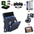Большой Хранения Чехол Крышка Чехол Защитная Сумка Для Sony PS4 Slim Case Консоли Consola Для Sony Playstation 4 Путешествия мешок