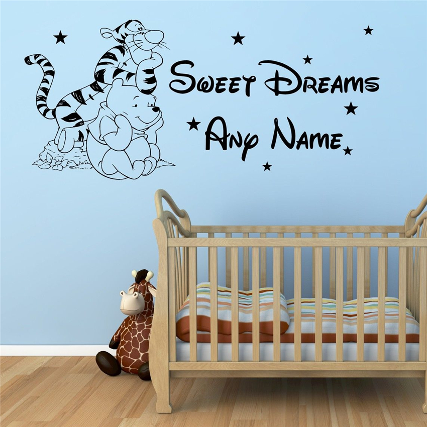 Winnie the Pooh your Luv`d/_Light Switch/_ Wall Art /_Funny Decal Vinyl Sticker