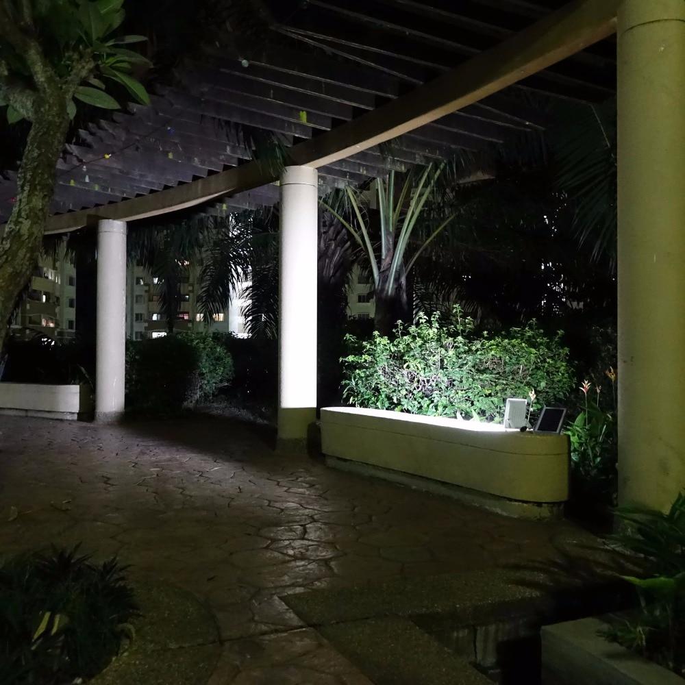 Image 3 - Alpha 600X 100 LED 100 750lm 3 Power Modes Solar Powered Outdoor Flood Light Solar LED Lamp for Garden-in Solar Lamps from Lights & Lighting