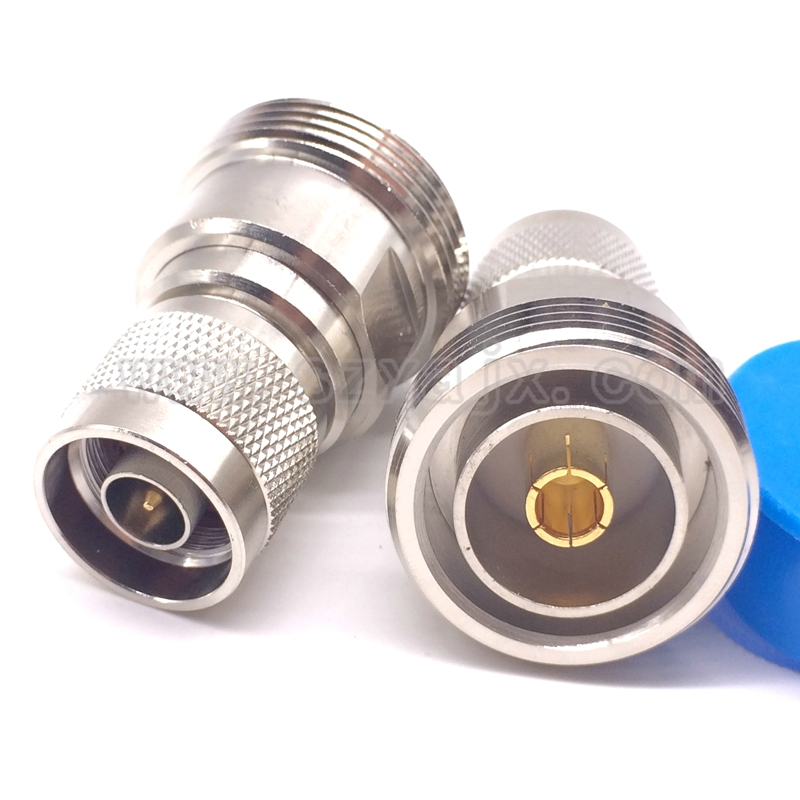JX connector 5pcs RF microwave Coaxial Coax Adapter L29 7/16 DIN female to N male Plug connector areyourshop 5pcs lightning arrestor n male plug to n female coaxial 0 2 5ghz 400w ca 23rp