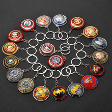 Nuevos vengadores Marvel 4 juguetes de juego final Iron Man Shield juguetes Thor Mjolnir Spiderman arma capitán Marvel Shield Metal modelo Juguetes E(China)