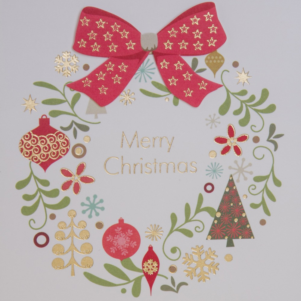 Personality Mini Christmas Cards Cartoon Pattern Greeting Card New ...