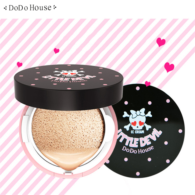 DoDoHouse Air Cushion Isolation CC Cream Concealer Moisturizer Foundation korean Cosmetics Whitening Oil-control Face Makeup henlics organic plant essential oil cc cream face makeup liquid foundation concealer with moisturizer oil control function