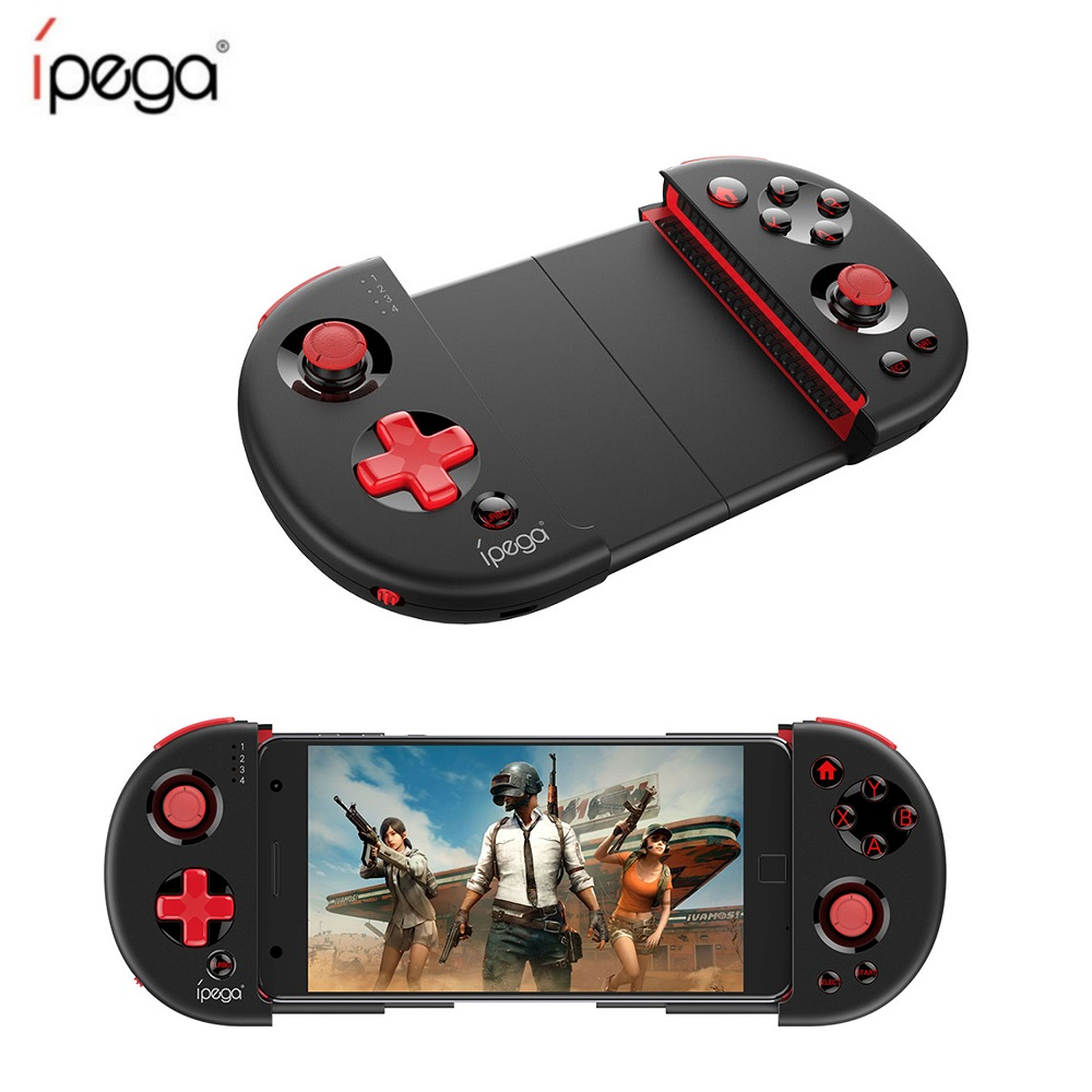 IPega PG-9087 Wireless Gamepad PG9087 Bluetooth Extendable Game Controller for Android IOS Smart Phone Tablet PC TV Box