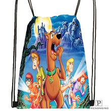 Custom Seven Dwarfs Drawstring Backpack Bag Cute Daypack Kids Satchel (Black Back) 31x40cm#180531-02-62