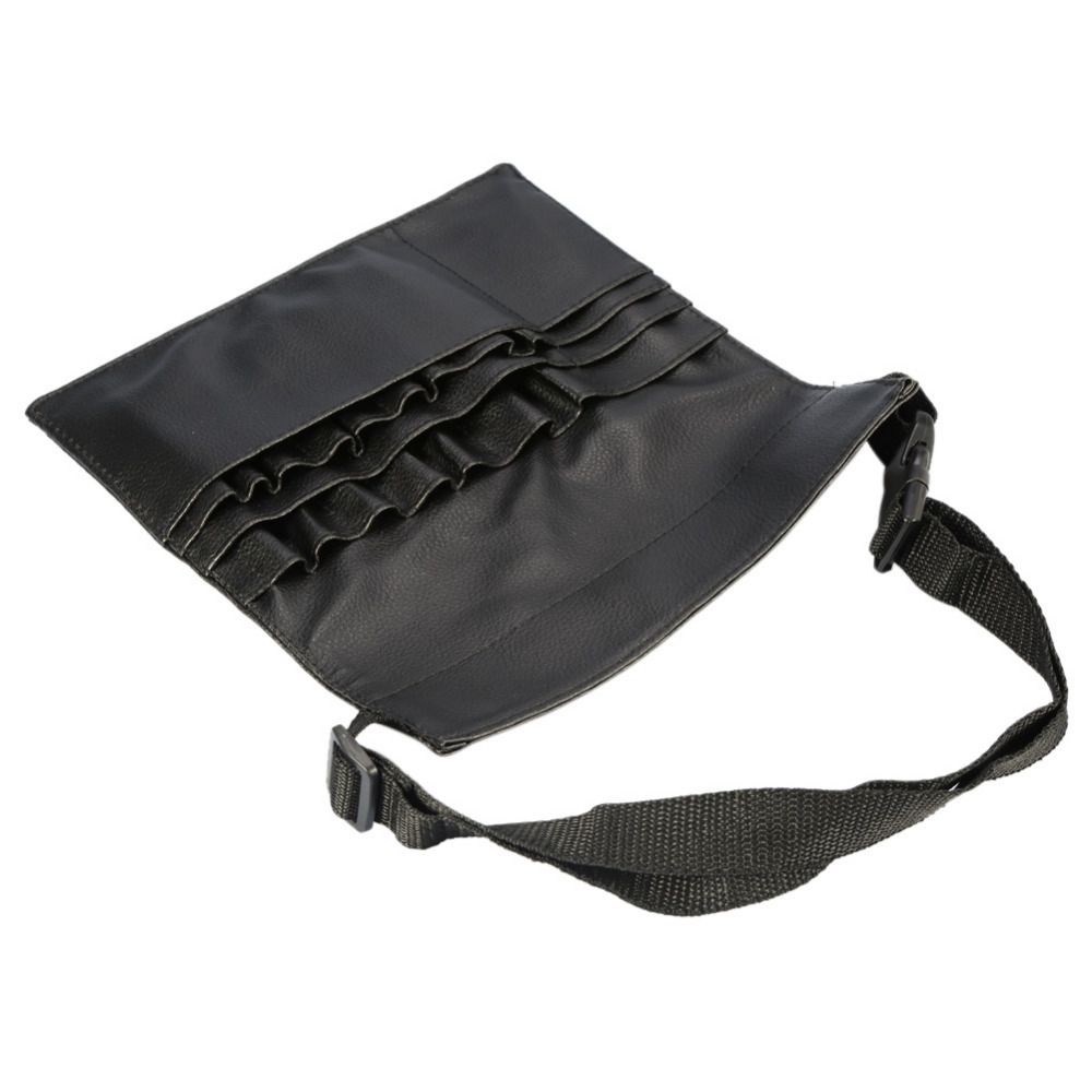 6602a7671e Professional Makeup Bag Cosmetic Bushes Case Holder PU Waist Belt Pouch  Apron Portable Waist Bag Artists Barber Brush Organiser-in Eye Shadow  Applicator ...