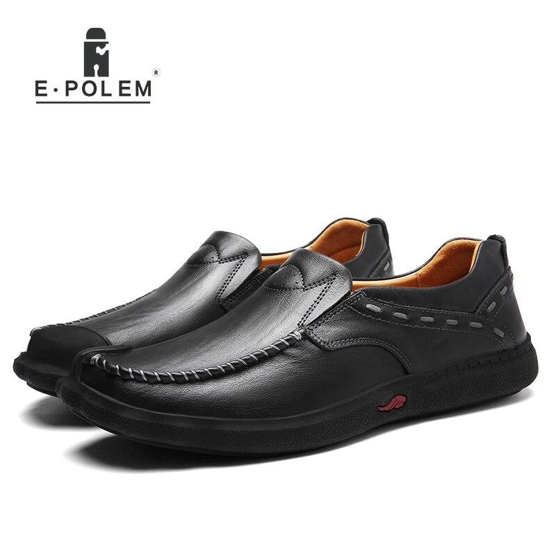 2017 Frühling Herbst Neue Ankunft England Stil Männer Schuhe Männlichen Business Casual Leder Atmungsaktive Lace-up Bequeme Schuhe Hochglanzpoliert