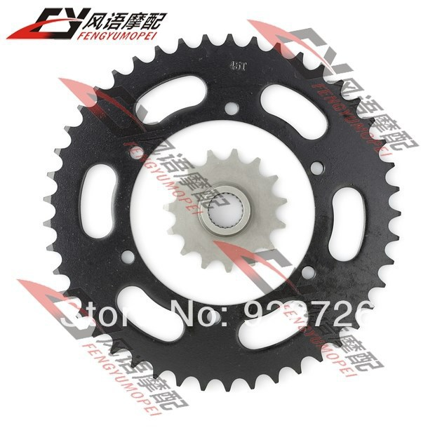 For Yamaha XJR400 motorcycle front and rear sprocket Chain sprockets Motorbike parts
