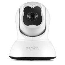 SANNCE 720 P с функцией Wi-Fi Беспроводной IP Камера 1.0MP Wi-Fi мини Камера скорость панорамирования и наклона P2P дома Sercurity камера видеонаблюдения инфракрасная Ночное видение Cam