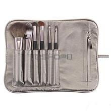 6 PCS Cosmetic Makeup Eyeshadow Brush Set Kit + Case Hot
