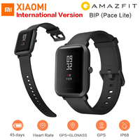 100% Xiaomi Amazfit Bip Smartwatch Huami GPS Heart Rate Smart Watch Men Wearable Devices IP68 Waterproof Watch Smart Electronic