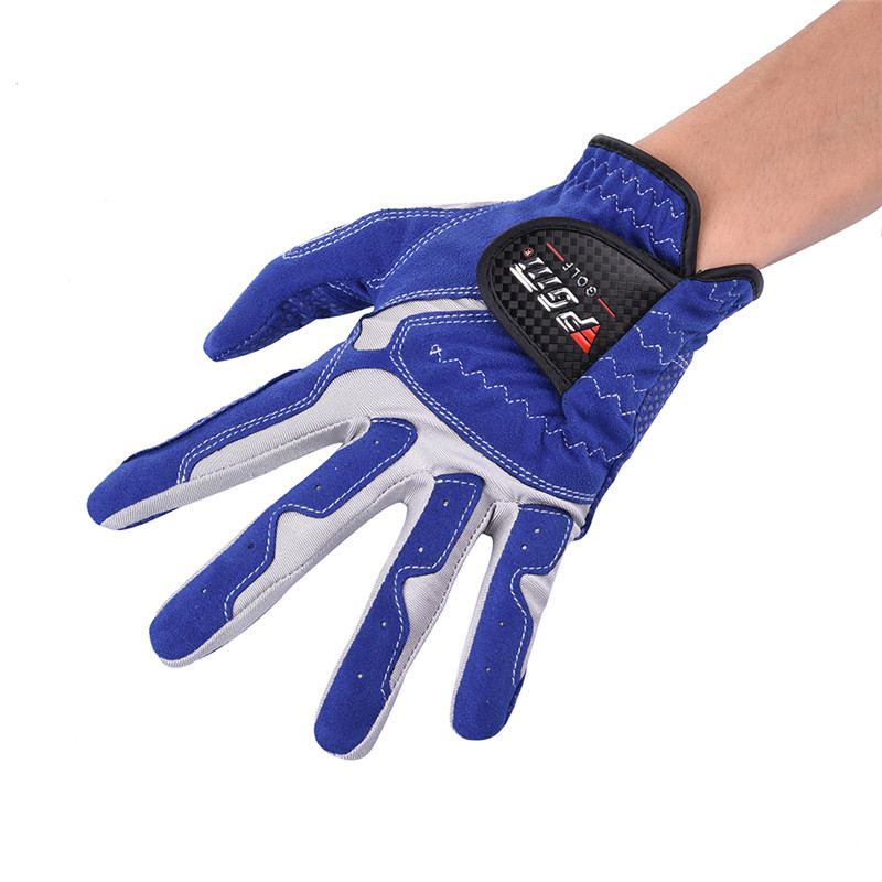 Golf Gloves Men Wear Left Hand Sweat Absorbent Microfiber Cloth Soft Breathable Abrasion Gloves цена