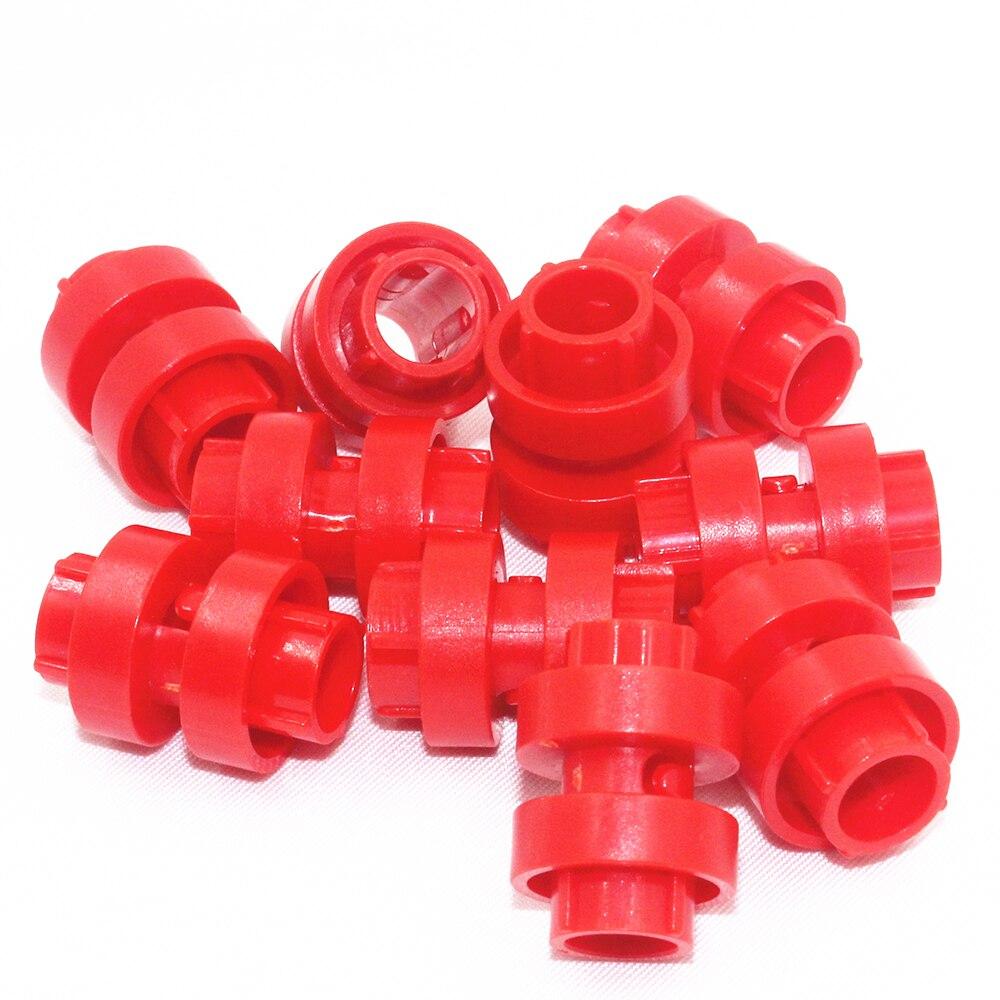 Blocs de construction en vrac pièces techniques briques 10 pcs engrenage manette de vitesse anneau 3 M compatible avec lego pour enfants garçons jouet (lot de 10)