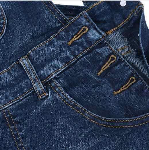 Новые повседневные джинсы комбинезоны женские сексуальные рваные джинсовые комбинезоны Боди женские узкие штаны комбинезон для девочек синий